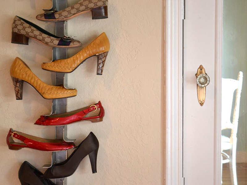 Держатель для обуви на стену