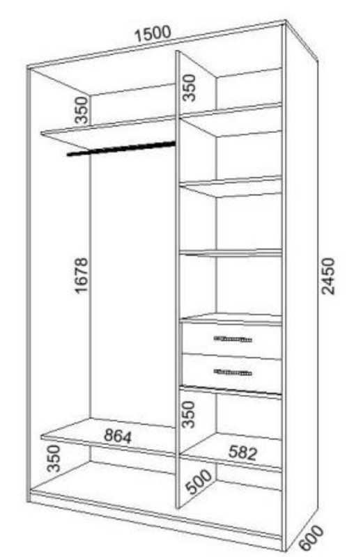 Шкаф из двп схемы и чертежи